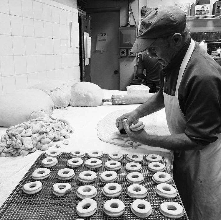 Yanni, one of our original donut makers.