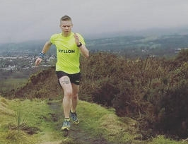 James Stewart has won multiple ultra marathon races and competes for Great Britain