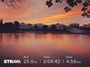 Sunset on River Thames on 25k run for JamesRunsFarcom.jpg