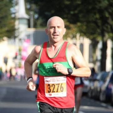 Steve Speirs has completed 546 races and his secret weapon is that he keeps it fun