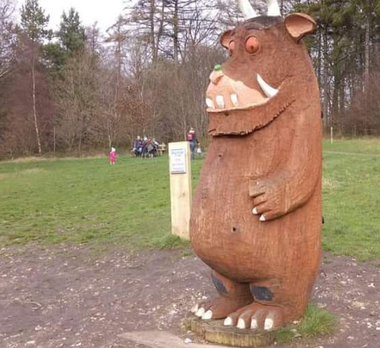 The Gruffalo will be cheering us on as we take on the Wendover Woods 50 miler