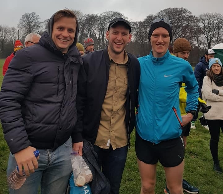 Jack Donaldson (left) and Ben Cooper (middle) were my fantastic support crew during the Wendover Woods 50 mile race.  It was all good practice for them for my world record running attempt where they will be part of my crew.  Hopefully I won't be wearing such revealing shorts for that…
