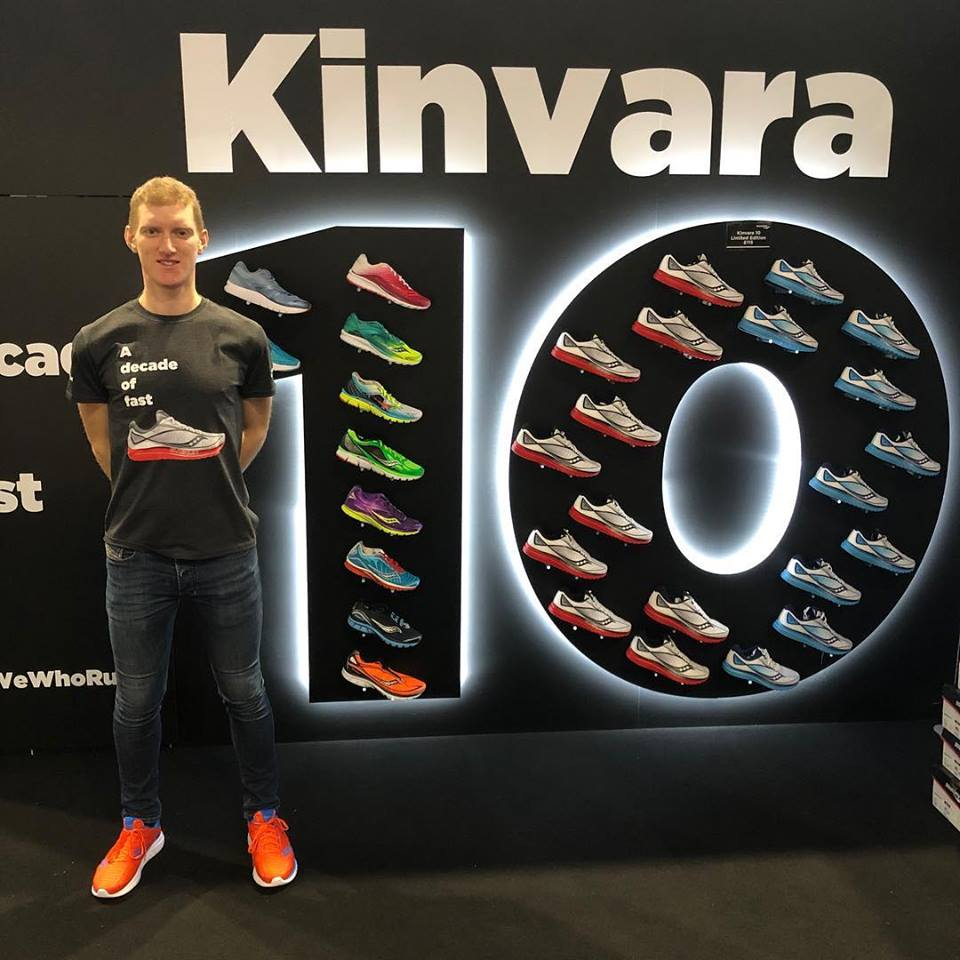 It was a great experience being part of the Saucony and Polar stand at the National Running Show. I even did a Q&A with Nic Anderson, Evie Serventi (my sports psychologist) and Mimi Anderson (my coach) about my world record attempt.