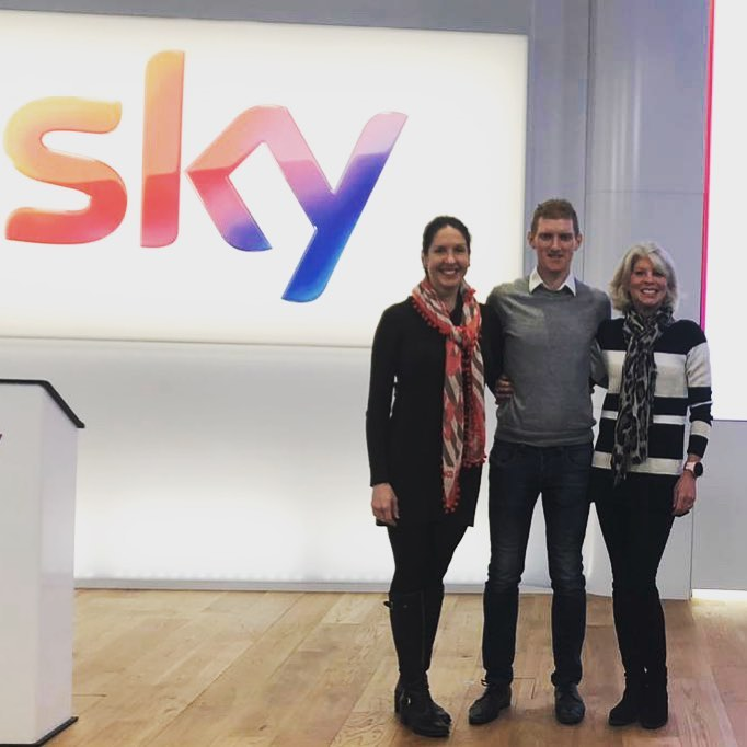 I was also extremely privileged to share a stage with  Evie Serventi and Mimi Anderson at Sky.  We got to speak to people about how they can  achieve their goals using the 3 C's  - Connections, Comfort Zones and Confidence