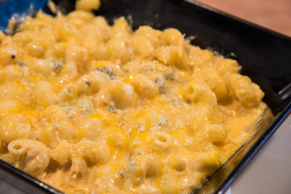 mac & cheese -