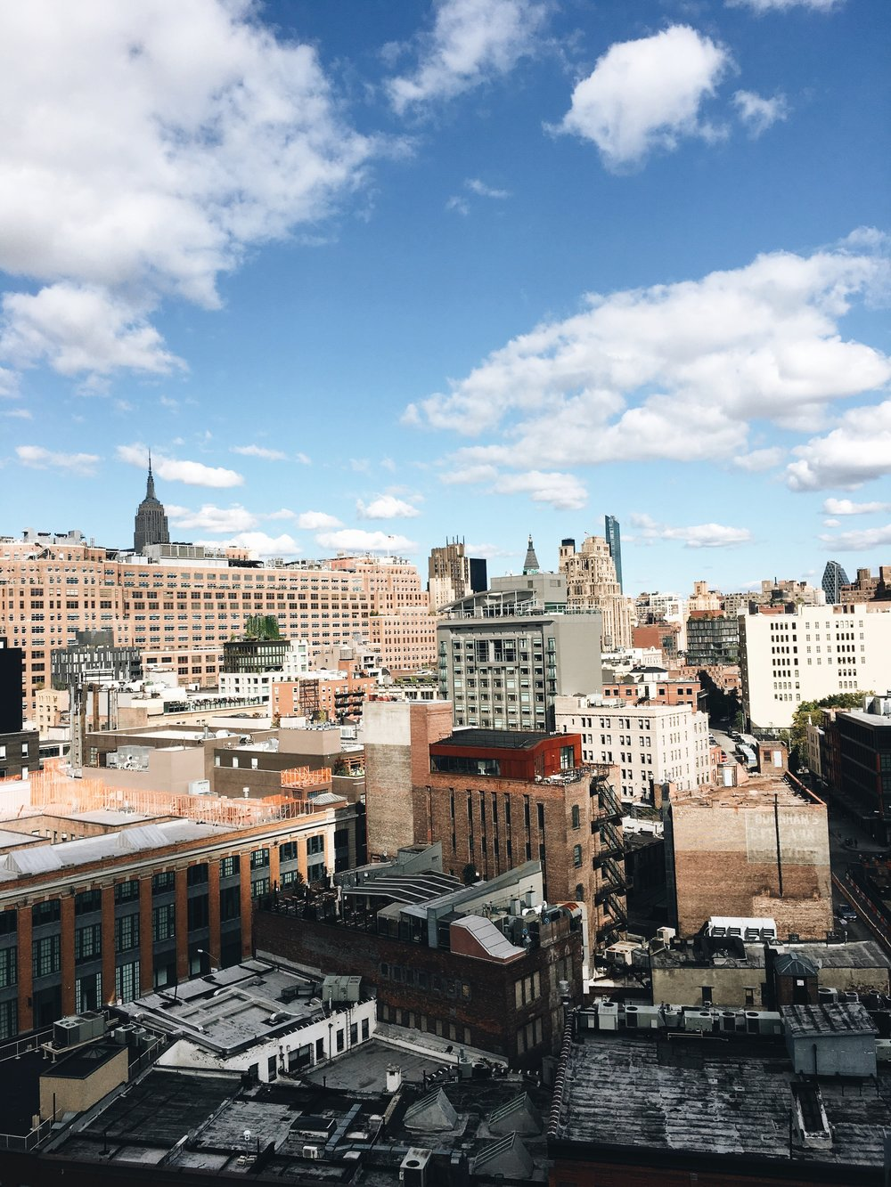Many NYC trips later and this was my first time to the Whitney Museum. Of course, the views from the restaurant balcony are Instagram worthy.