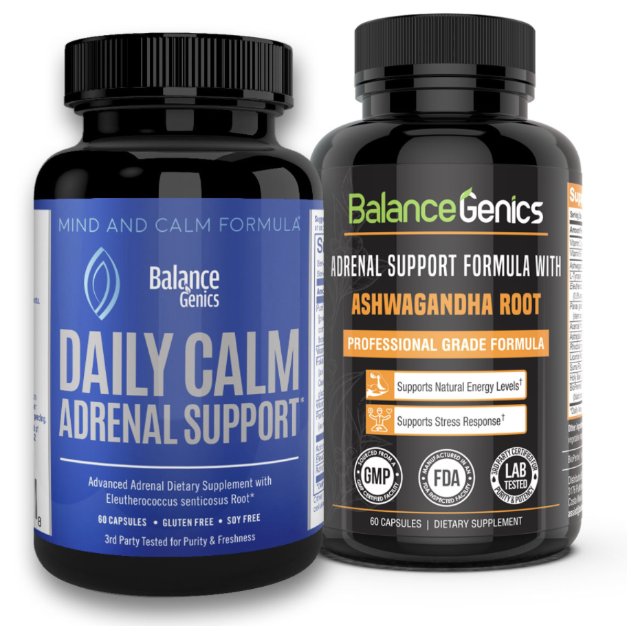 Adrenal Support - BalanceGenics is dedicated to delivering the latest advancements in supplements to the healthcare community. Our primary goal is to research and uncover the most advanced supplements. With so many products on the market, it can be challenging to find a supplement with proven success. Our product lines have been specifically formulated with the very best to ensure we deliver only the high quality product line.FREE SHIPPING - 100% MONEY BACK GUARANTEE