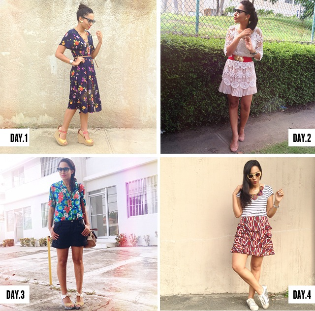 #WWWsummer30 Challenge Last month I took the challenge of creating 30 different looks based on list provided by the famous blog Who What Wear, the #WWWsummer30 Challenge.