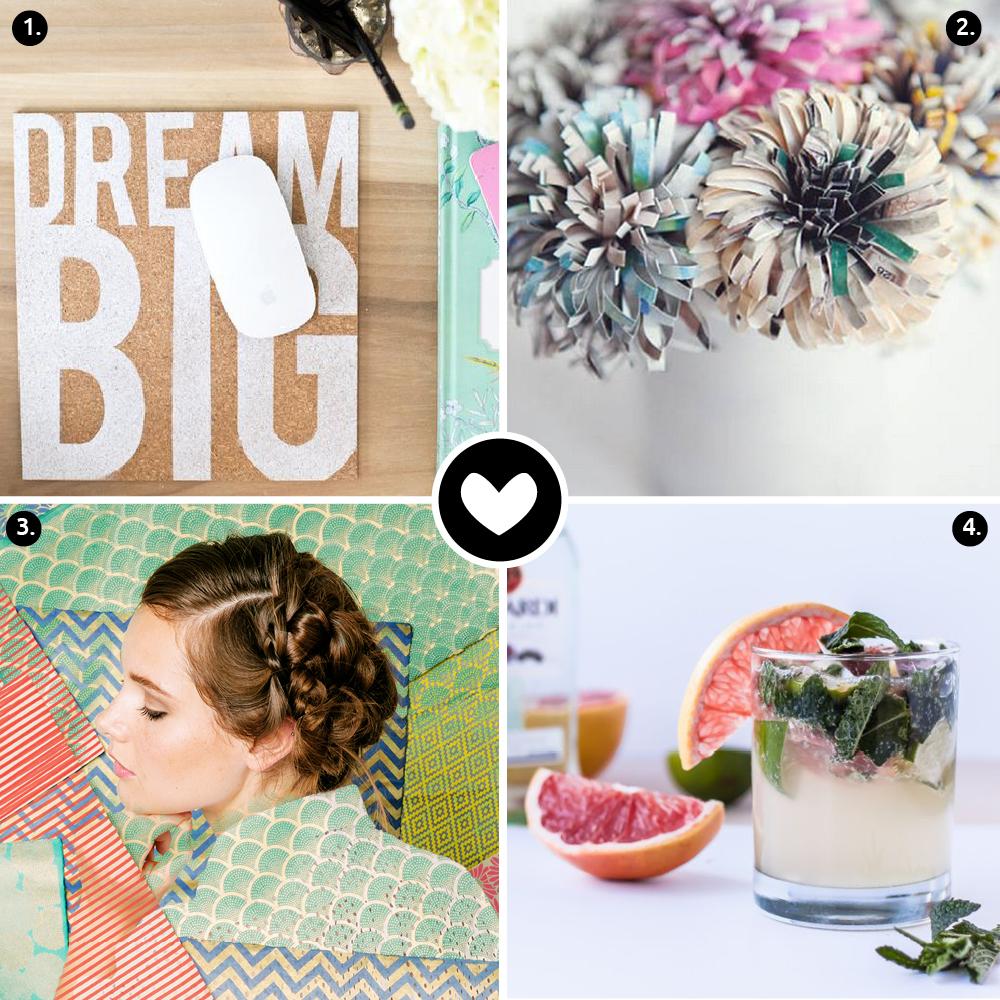 4 Ideas De Inspiración Para Esta Semana #3 // Sé que los lunes pueden ser duros, pero todavía tenemos que pasar por ellos. Así que aquí hay 4 ideas de inspiración para disfrutar esta semana.