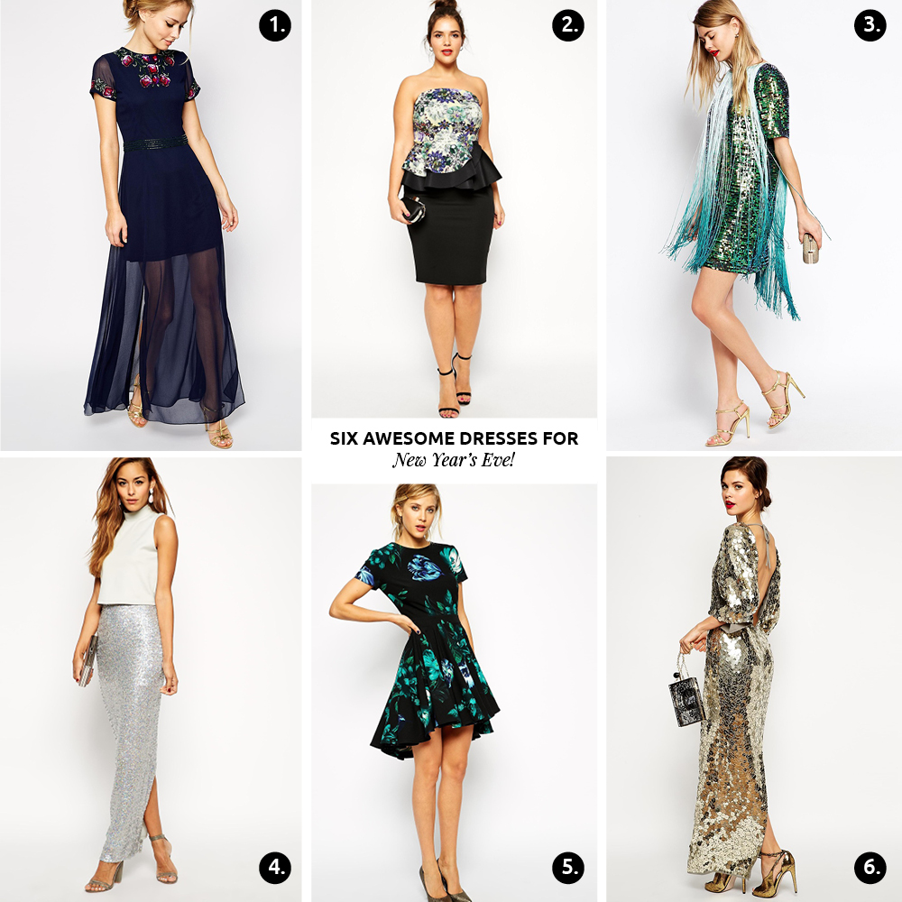 6 (¡Fabulosos!) Vestidos Para Año Nuevo // ¡Aquí les dejo una lista de mis vestidos para año nuevo favoritos que he visto! Son fabulosos, chic y perfectos para la ocasión.