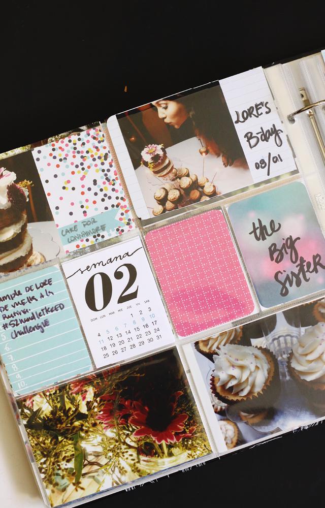 Mi 'Project Life' 2015 / Enero - Febrero // Me he unido al reto de recopilar fotos y crear un Project Life 2015. Estas son mis primeras 9 semanas del año, ver cómo me mantengo creativa.