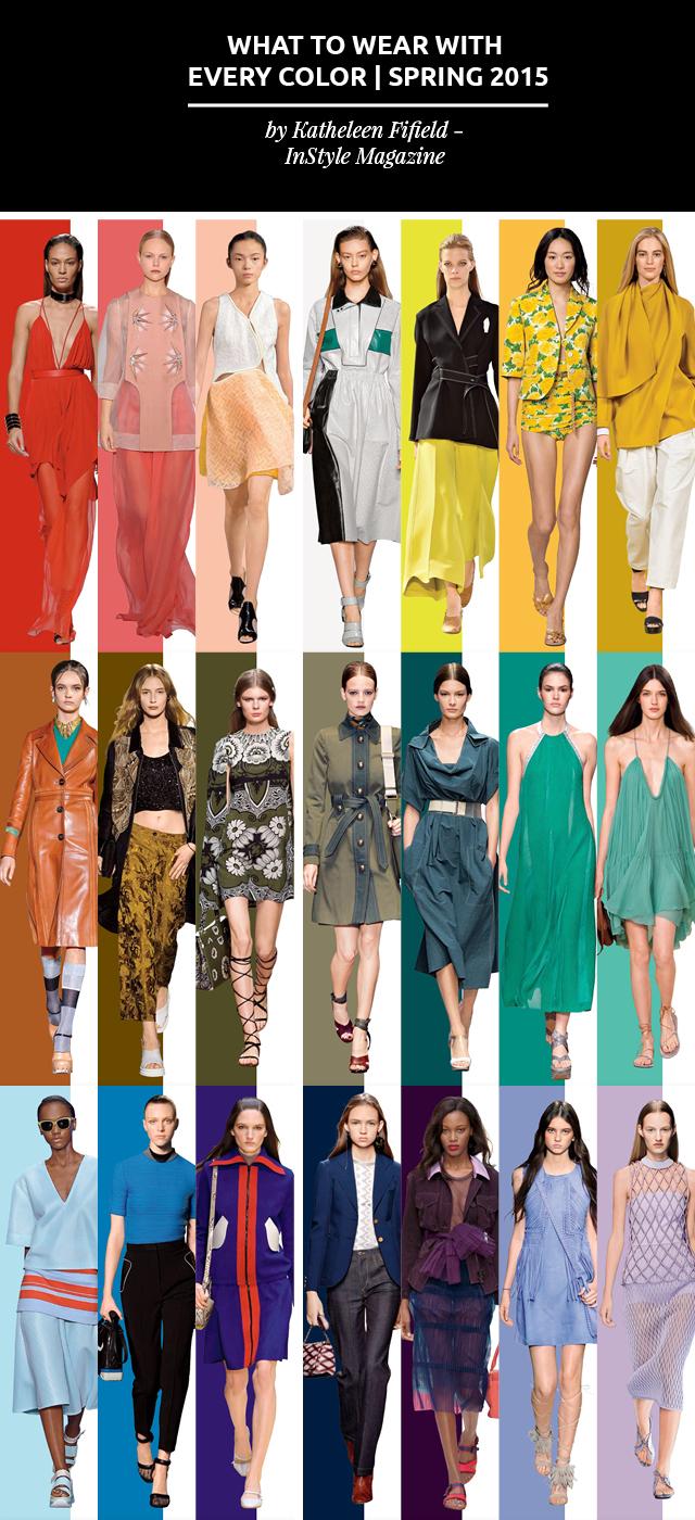 Que Usar Con Cada Color De La Primavera 2015 // Una nueva temporada está llegando; Nuevas tendencias, nuevas ideas. Pero ¿sabes cómo usar cada color de la primavera 2015?