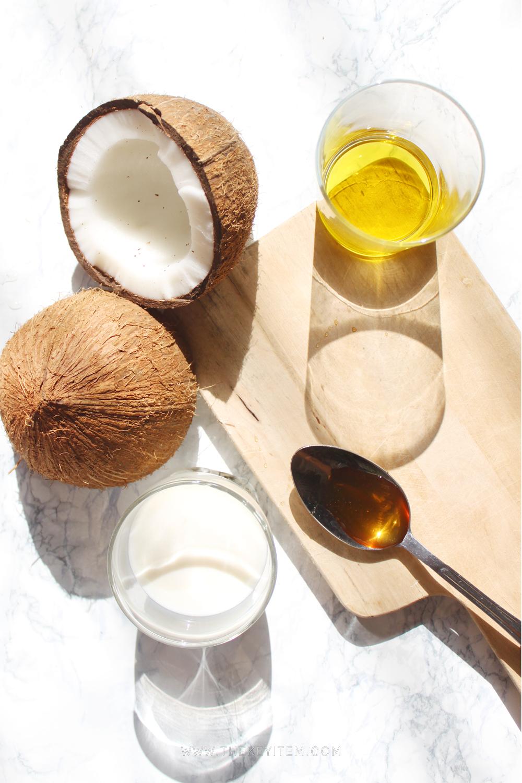Paraíso de Coco - - Leche de coco- Aceite de Oliva- Miel