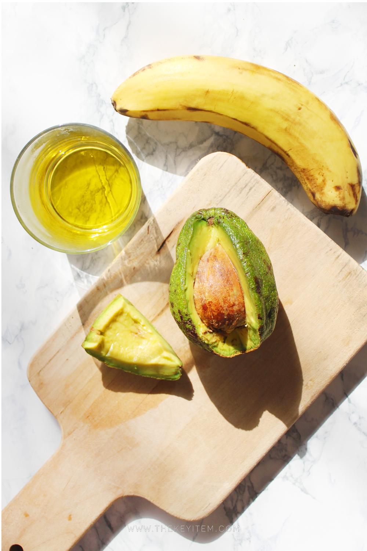 Poder caribeño - Aguacate -Banana -Aceite de Almendra -