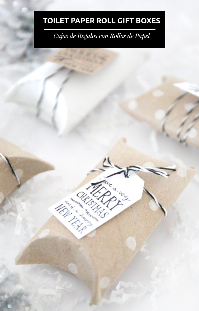 3 Ideas Económicas Para Envolver Regalos Tu Misma // Envolver regalos es un arte y es tan importante como lo que está dentro del regalo, y aún más si lo haces tu misma. ¡Aquí les dejo 3 ideas!