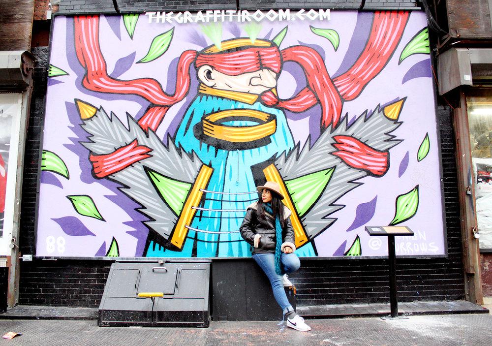 La Guía Mas Cool De Murales Artísticos En NY // ¡Si vives o estas visitando la cuidad de Nueva York, no dudes en visitar estos murales artísticos para tomarte fotos súper cool