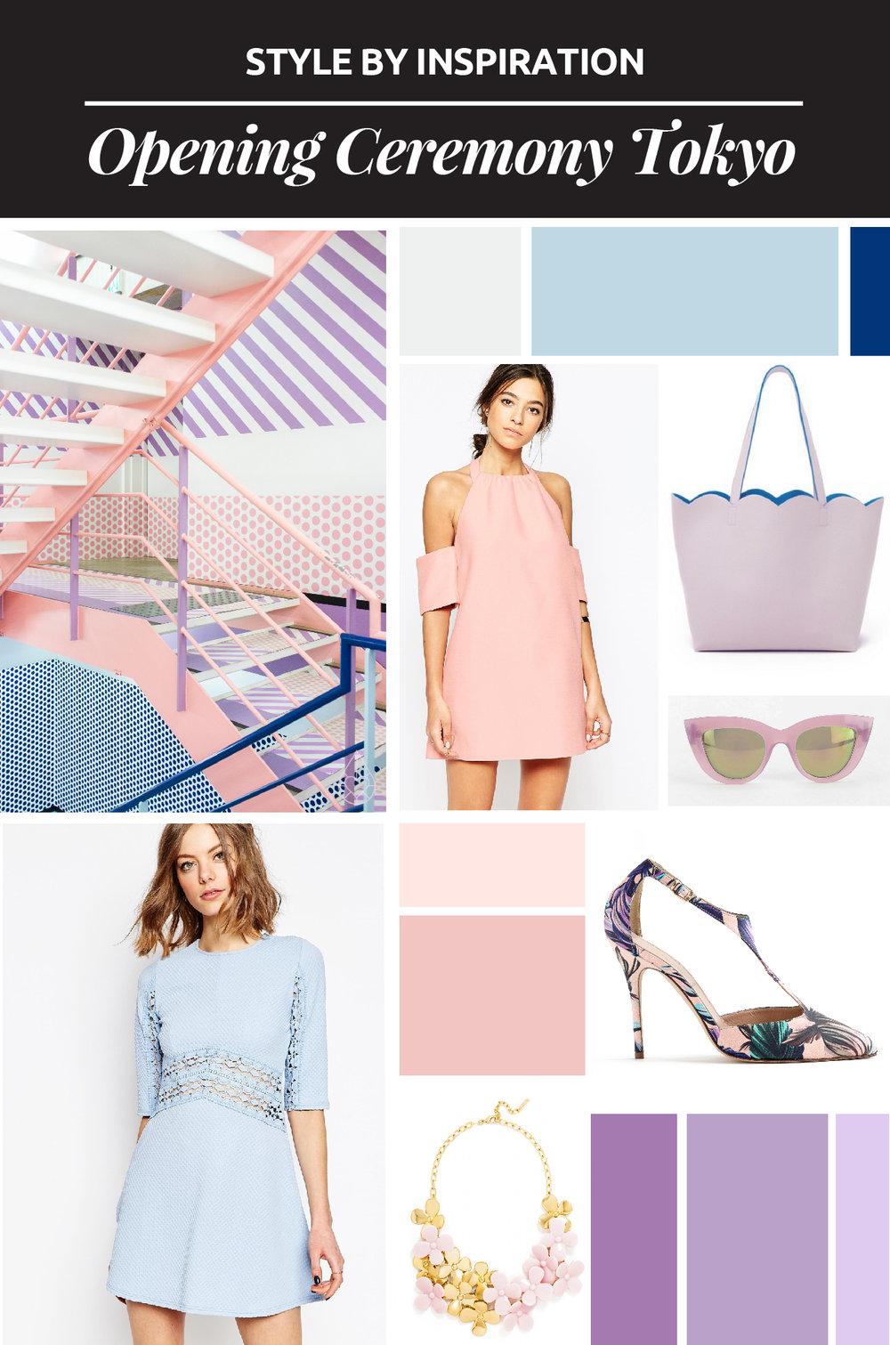Style By Inspiration #3 - Opening Ceremony En Tokyo // El paleta de colores y el estilo gráfico de la tienda Opening Ceremony en Tokyo llamó mi atención. ¡Aprende cómo usar esto como inspiración para un look!