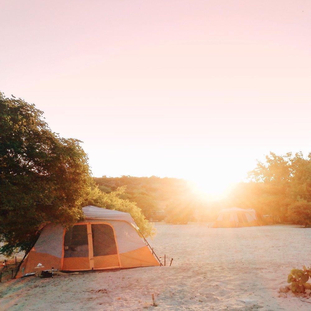 Camping en Eco del Mar - Cabo Rojo, Pedernales