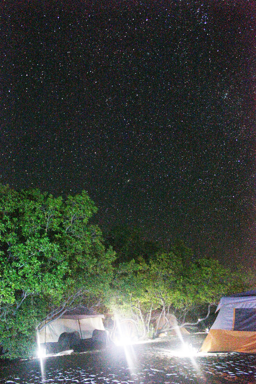 Una Noche Estrellada - Camping en Eco del Mar, Perdernales