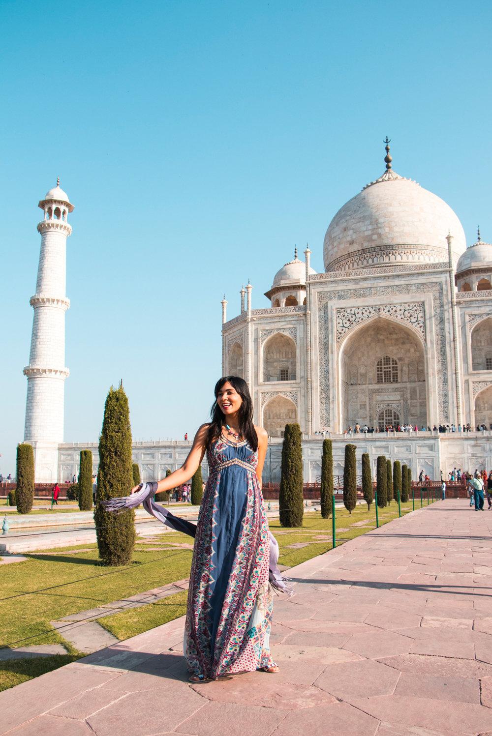 ¿Interesado en viajar a la India? Aquí la guía completa que necesitas saber: vuelos, vestimienta, lugares turísticos, costo, transporte y mucho más.viaje-india-travel-guia-11-taj-mahal