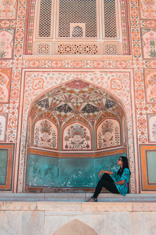 ¿Interesado en viajar a la India? Aquí la guía completa que necesitas saber: vuelos, vestimienta, lugares turísticos, costo, transporte y mucho más.viaje-india-travel-guia-20-amber-palace-fort