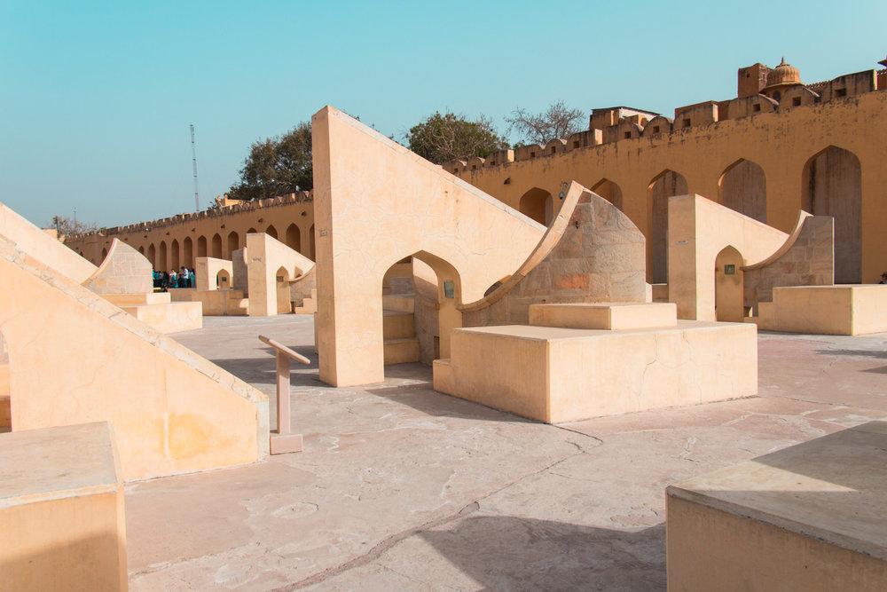 El Observatorio Solar, Jaipur