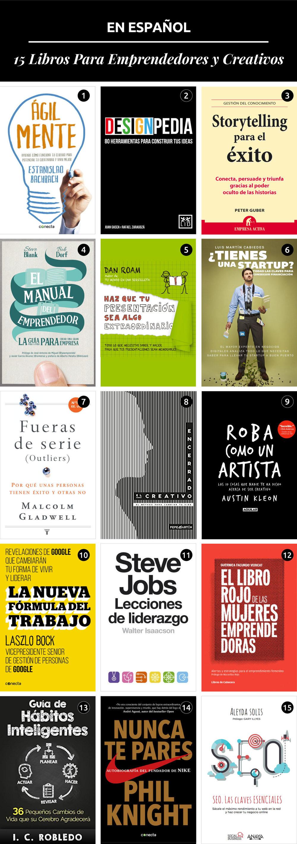 Libros Emprendedores Creativos