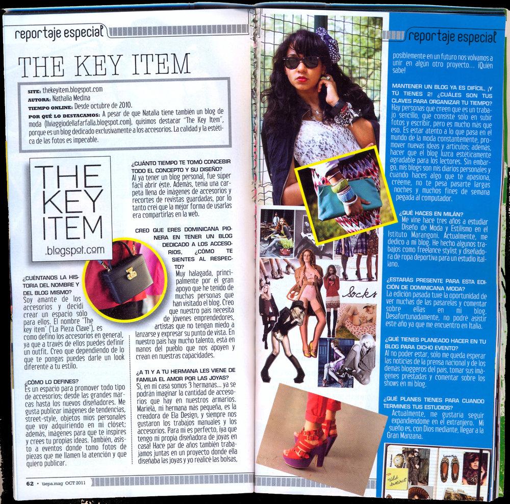 Primer artículos sobre TKI en Uepa Mag - 2011