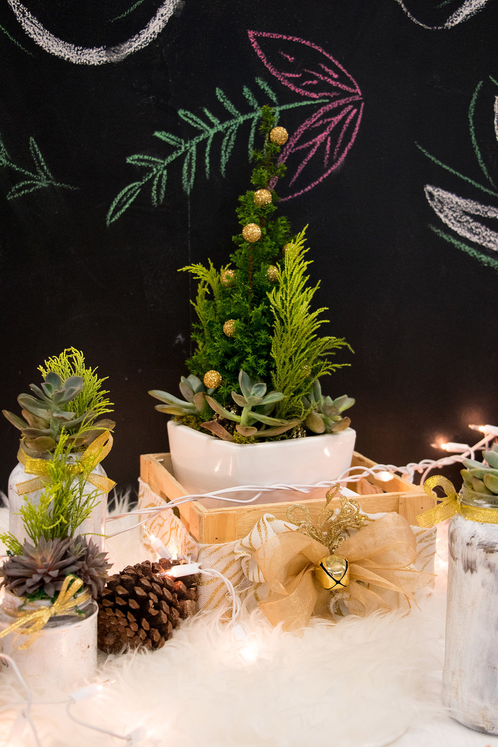 Fun Christmas Table Decor | The Key To Blog Blogging Creative Workshop