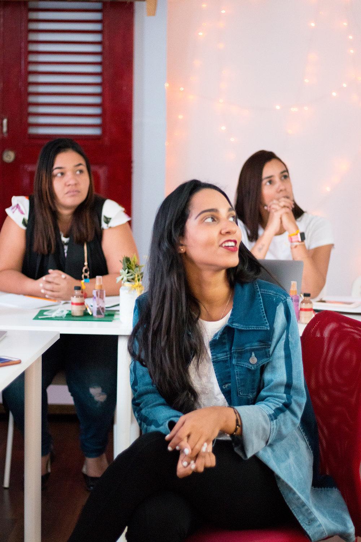 Denim Jacket Nathalia Medina | The Key To Blog Blogging Creative Workshop