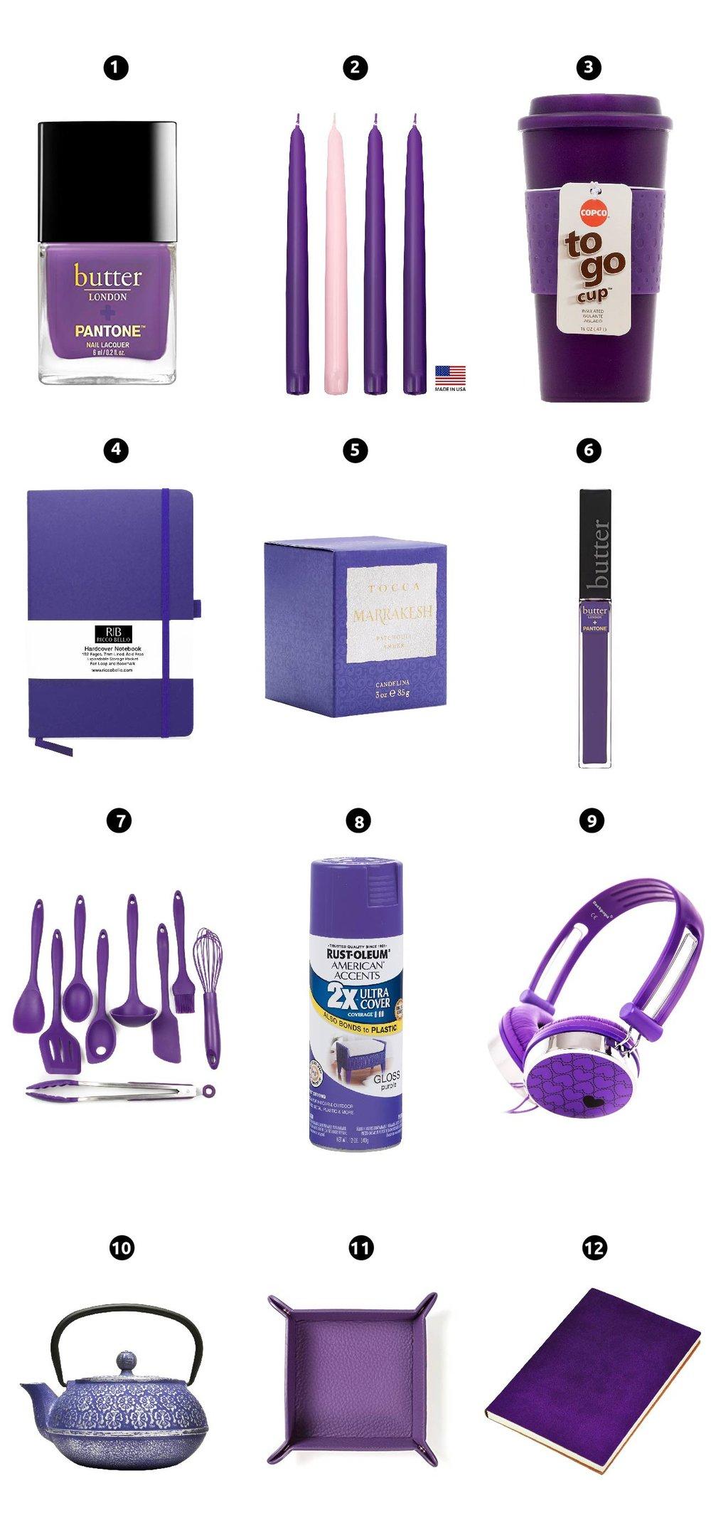 Guía De Props: Despertando La Creatividad Con El Ultra Violeta | Pantone anunció el color del 2018: ¡el ultra violeta! ¿Quieres saber como sacarle provecho? En este artículo digo como puedes utilizarlo y combinarlo.