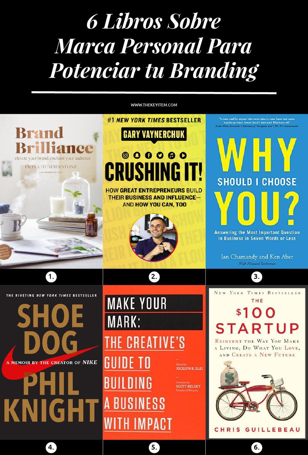 Estos libros sobre marca personal te ayudarán a entender quién eres como marca, cuál es tu mensaje y qué debes hacer para diferenciarte de los demás