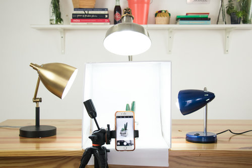 DIY | Lightbox: Crear Un Estudio Para Fotos De Productos