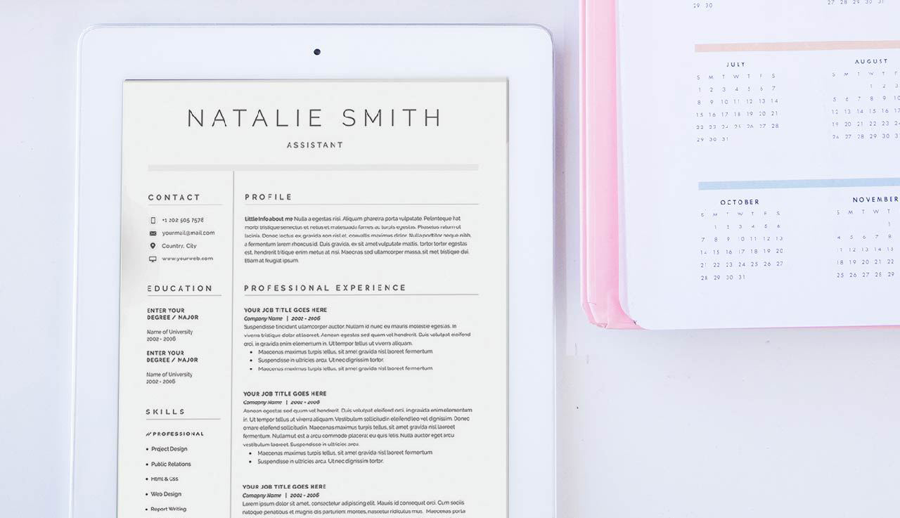 Haz Que Tu CV Llame La Atención + 10 Diseños De Currículums — The ...