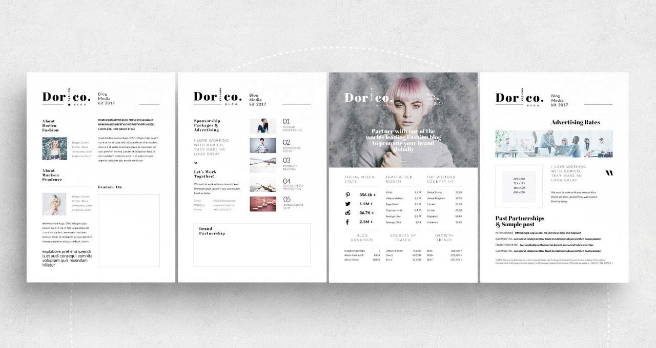 ¿Para Qué Sirve Un Media Kit? + 10 Plantillas De Diseño