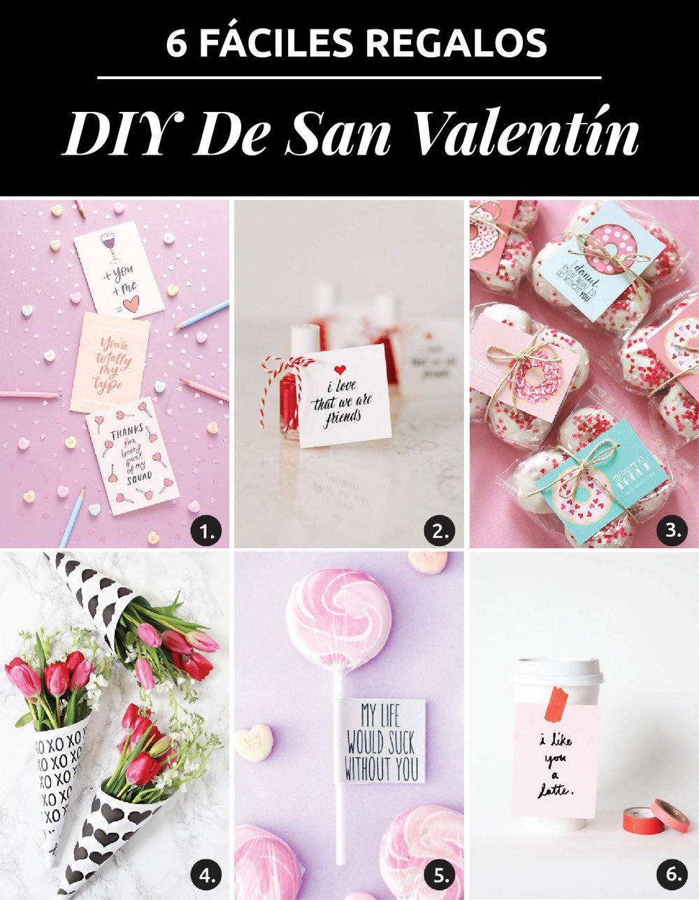 6 Faciles Regalos Diy De San Valentin Descargas Gratuitas The