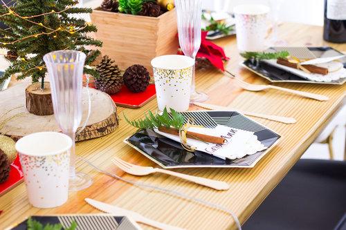 Cómo Decorar Una Mesa De Navidad Fácil & Asequible