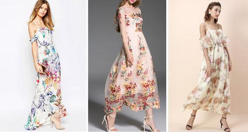 18 Vestidos Estampados Para Una Boda De Verano