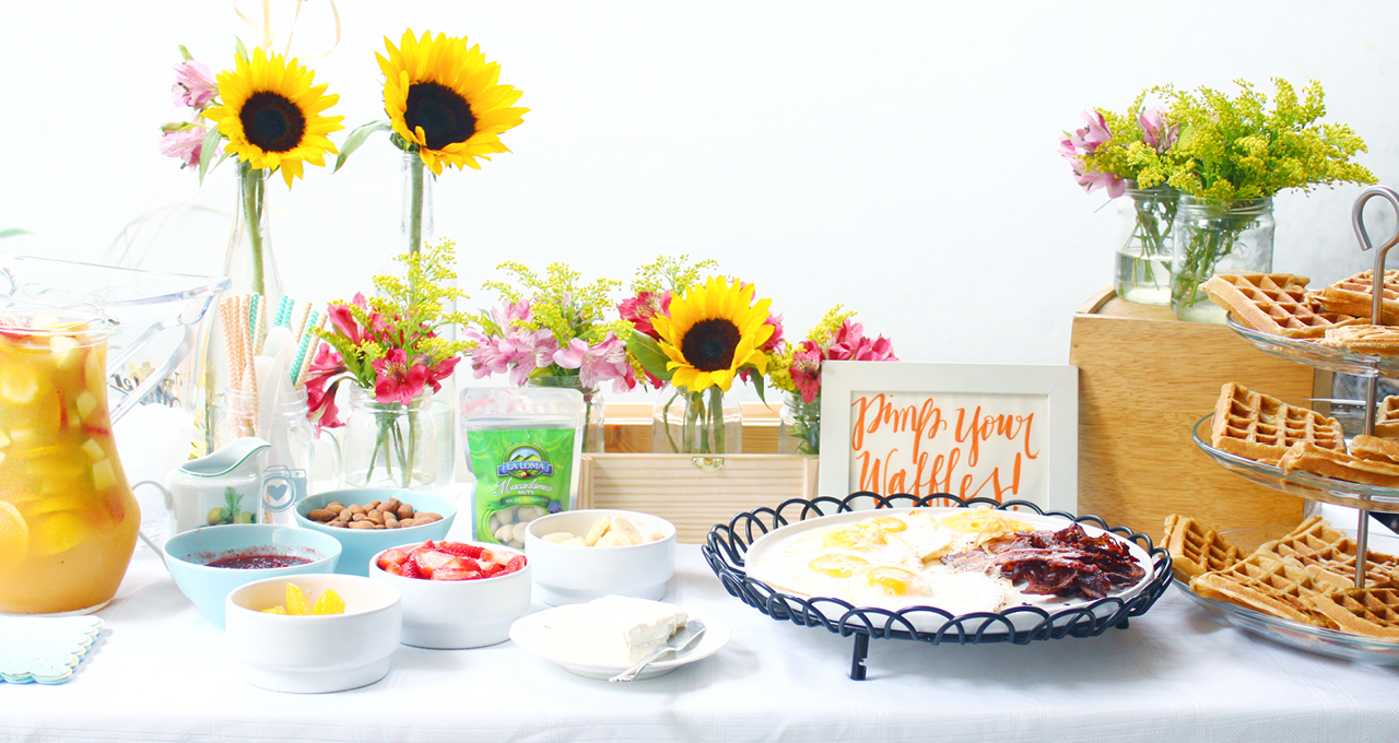 Como Decorar Un Hermoso Waffle Bar Para Un Brunch Con Tresors