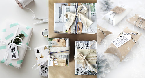 3 Inexpensive DIY Gift Wrapping Ideas