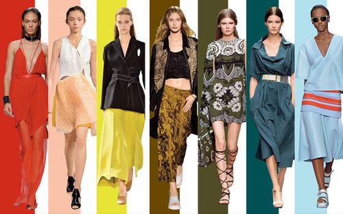 Que Usar Con Cada Color De La Primavera 2015
