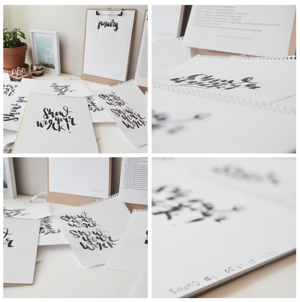 Lettering 1 vez a la semana - Miranti es diseñadoray creadora del blog Pen + Peplum y ha creado el reto de hacer un lettering a la semana durante todo el año (52 en total), todos los meses ella dará las pautas de que debe decir el letteringy eres libre de interpretarlo como desees.¡VALE LA PENA! Todo artista debe aflojar la mano practicando mucho. Me gusta que este reto es semanal, porque admito que puede ser difícil llevarlo a diario si eres un principiante en el área. Es una forma de liberar el estrés, practicar y además unirse a una comunidad. Puedes publicar tus lettering en las redes usando el hashtag #52handlettered. Es una bonita forma de conocer mas personas que también lo están intentando y es una forma de dar a conocer tus trabajos por igual.
