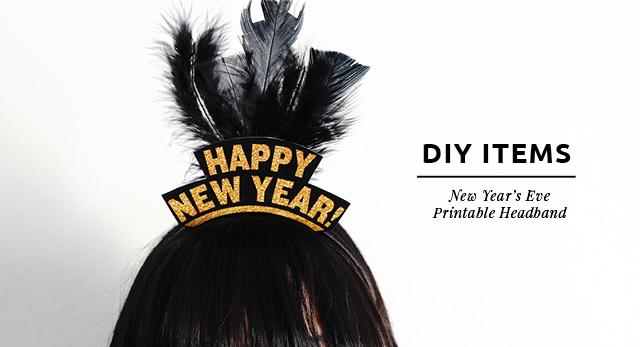 Cintillo Imprimible De Año Nuevo (¡Gratis!)