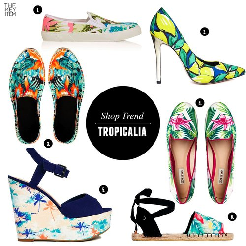 6 Items From The Tropical Summer Trend