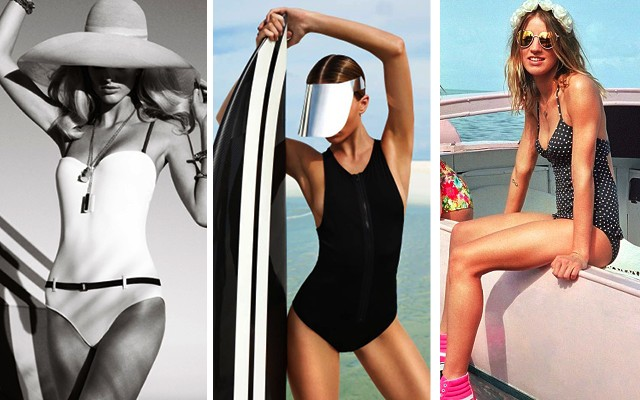 3 Stylish Ways You Can Wear A One-Piece Swimsuit