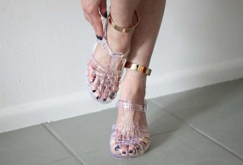 Blast From The Past: Jelly Shoes