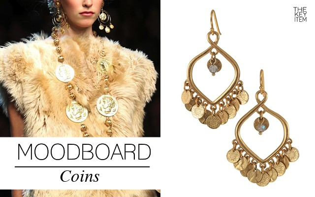Spring 2014 Trend: Coins
