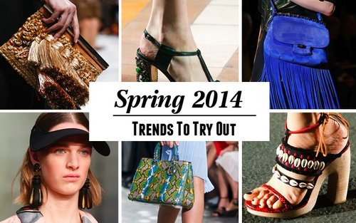 8 Trends To Try Out in Spring 2014