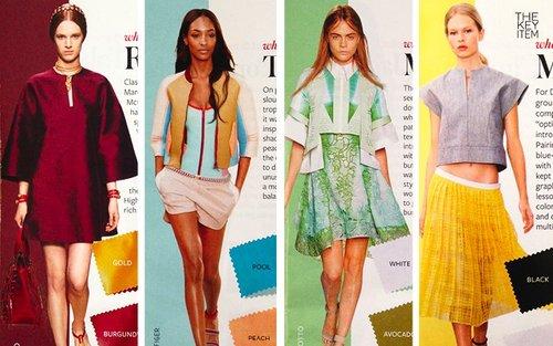 Cómo Usar Cada Color De Primavera 2014