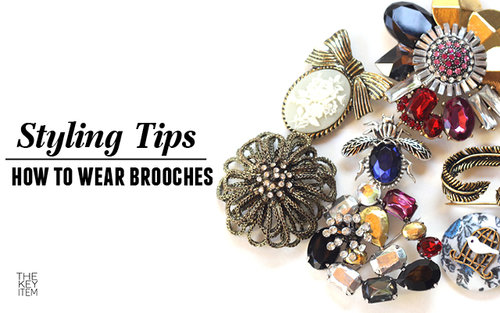 5 maneras de usar broches